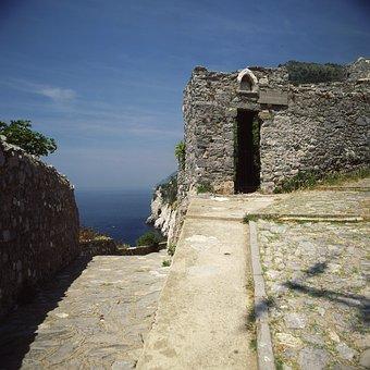 Porto Venere, Liguria, Italy, Sea, Water, Cimitery