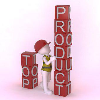 Man, Product, Marketing, Top Product, 3d, Business