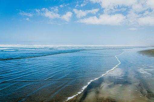 Sea, Blue, Ocean, Beach, Water, Sky, Nature, Summer