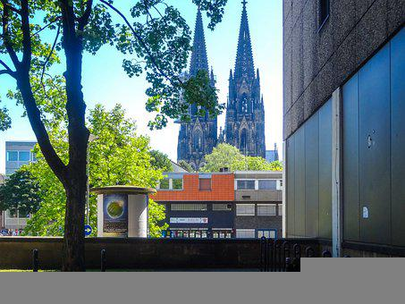Cologne, Cologne Cathedral, Germany, Dom, Architecture