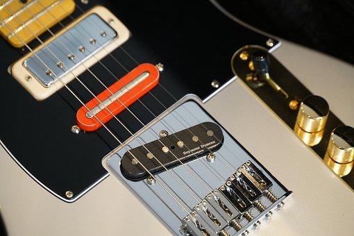 Telecaster, Guitar, Rock, Electric, Band, Music