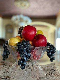 Bowl, Fruits, Fresh, Fresh Fruits, Ripe, Ripe Fruits