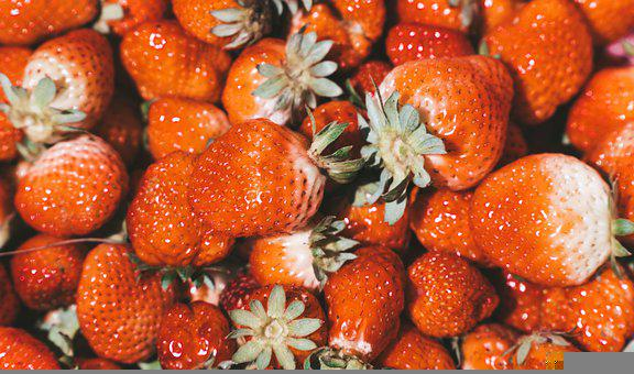 Strawberries, Fruits, Food, Berries, Produce, Harvest