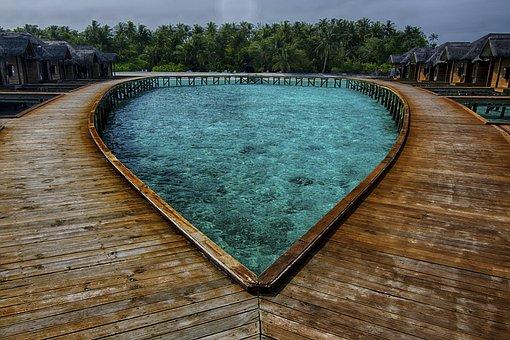 Maldives, Sea, Beach, Ocean, Water, Travel, Summer