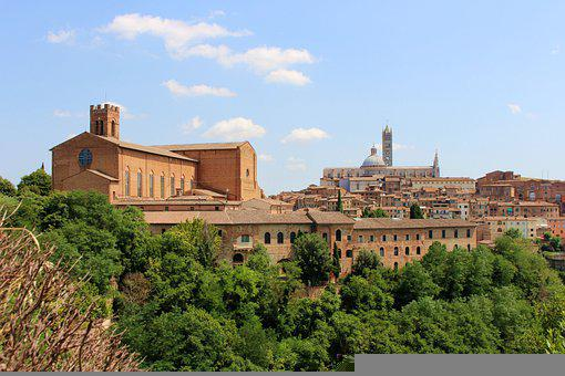 Siena, City, Buildings, Old City, Old Town