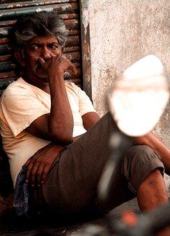Street, Mumbai, Slum, Hunger, City, People