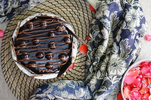Chocolate, Cake, Chocolate Cake, Tart, Dessert, Food