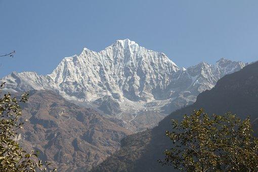 Mt, Thamserku, Everest Base Camp Trek