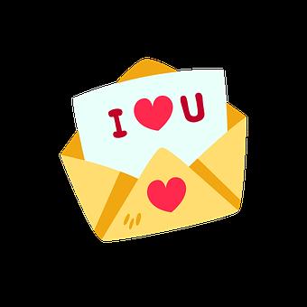 Valentine, I Love You, Letter, Mail, Love, Romantic