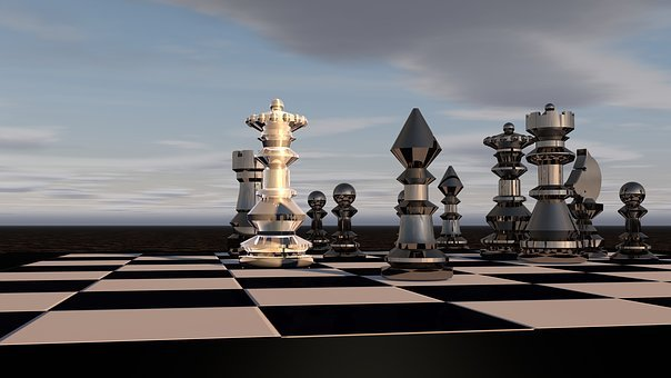 Chess, Chess Game, Lady, Chess Pieces, Figure, Strategy