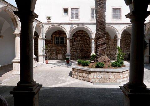 Courtyard, Architecture, Church, Atrium, Outdoor