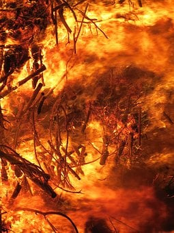 Fire, Conflagration, Easter Fire, Destruction