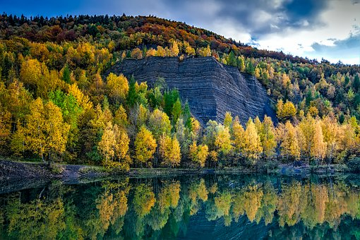 Poland, Landscape, Scenic, Autumn, Fall, Colorful