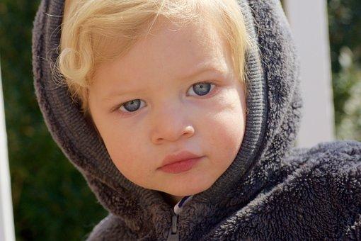 Boy, Grandson, Family, Child, Face, Portrait, Blond