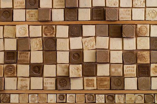 Soap, Handmade, France, Cubes, Soap-boiling