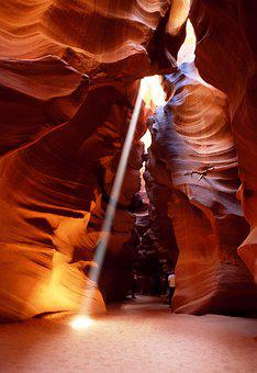 Slot Canyon, Arizona, Gorge, Antelope Canyon, Usa