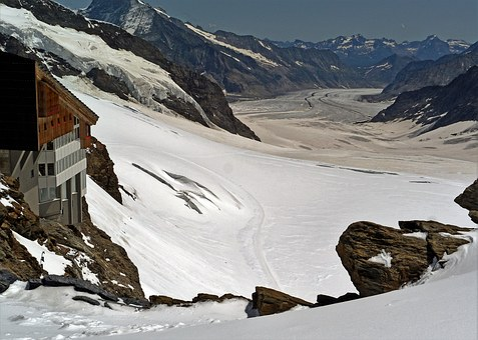 World Natural Heritage, Aletsch Glacier, Jungfraujoch