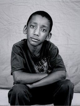 Homeless, Child, B W, Kid, Sad, Poverty, Sadness, Poor
