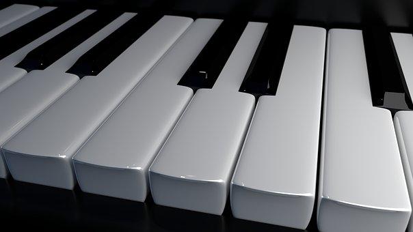 Piano Keys, Keys, Piano, Music, Musical Instrument