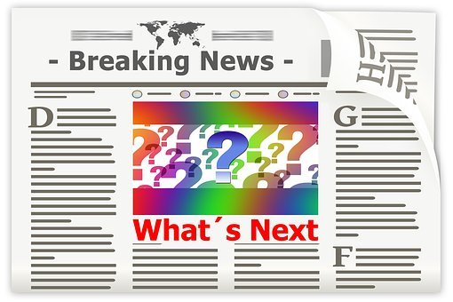 Newspaper, News, New, Events, Question, Notification