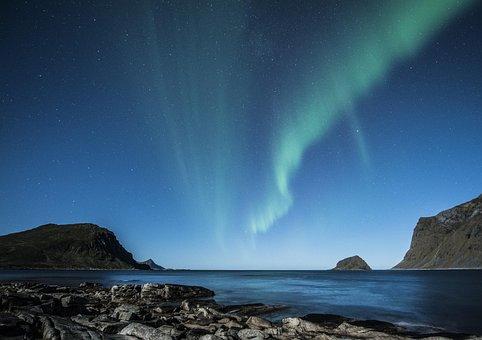 Aurora Borealis, Lofoten, Northern Lights, Norway