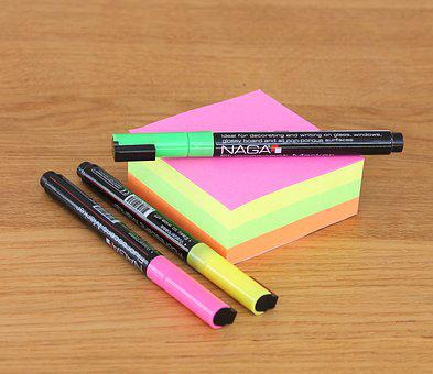 Notepad, Note, Office, Office Supplies, Pen