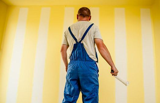 Building, Painter, Painting, Strips, Paint
