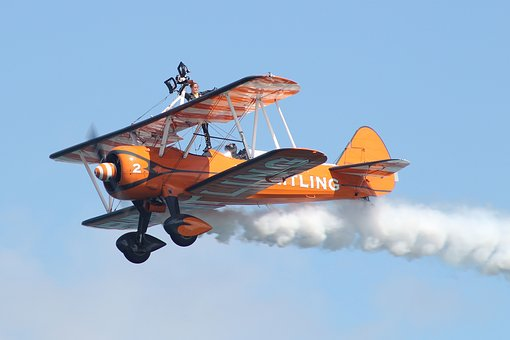 Breitling Wingwalkers, Aircraft, Planes, Air Show