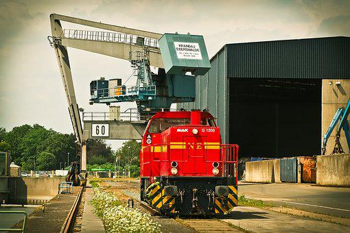 Port, Crane, Harbour Crane, Water, Envelope