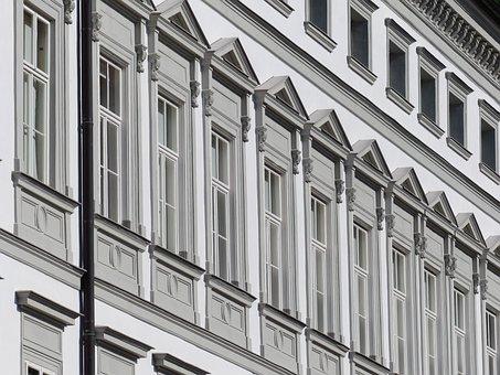 Facade, Window, Home, Building, Architecture, Stucco