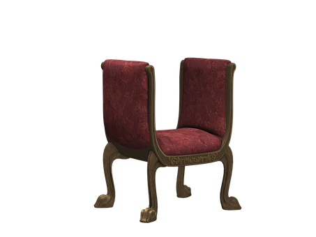 Bank, Stool, Chair, Wood, Upholstery, Upholstered
