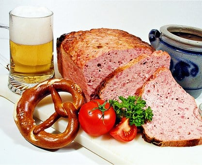 Liver Cheese, Bavarian, Vespers, Snack, Sausage