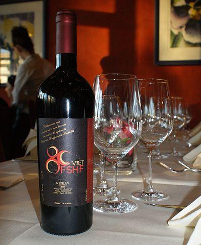 Wine, Bottle, Glasses, Presentation, Albania, Albanian