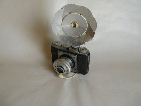 Dacora Digna, Camera, Old Camera, 1955, Flash