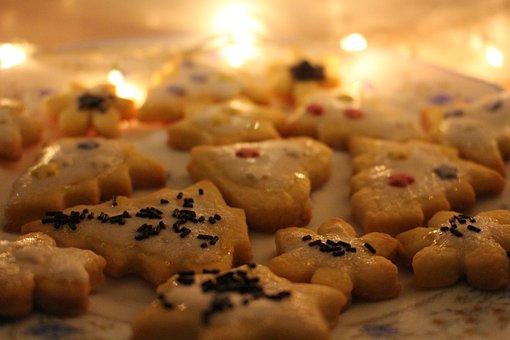 Holidays, Christmas, Cookies, Joy, Lights, Decor