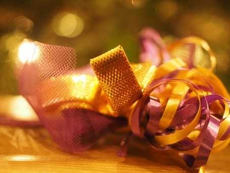 Loop, Gift, Packaging, Decoration, Packed, Christmas