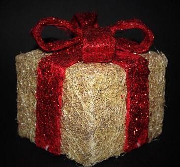 Gift, Loop, Decoration, Packed, Packaging, Gift Tape