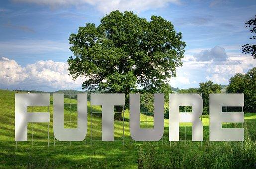Forward, Tree, Oak, Landscape, Country Style, Art
