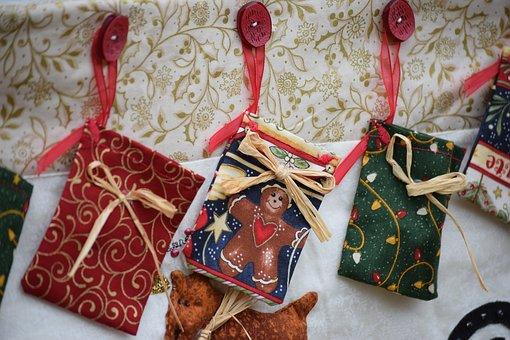 Gifts, Gift Bags, Christmas, Handicraft, Lombardy