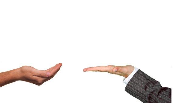 Hands, Suit, Give, Take, Offer, Present, Presentation