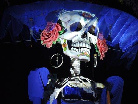 Catrina, Mexico, Day Of The Dead, Halloween