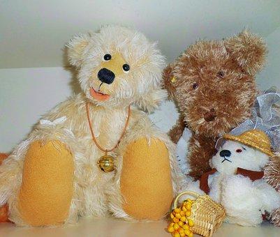 Teddy Bears, Hand Labor, Collector Bear, Cute