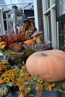 Helloweenm, Cucurbita Decoration, Autumn Mood