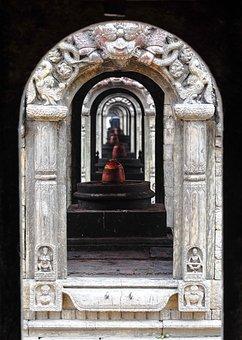 Temple, Nepal, Hindu, Holy, India, Religion