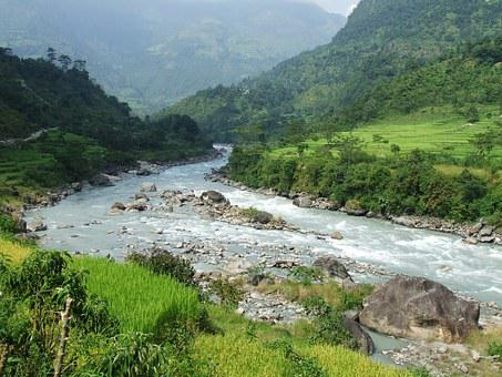 Nepal, Annapurna, Trekking, Forest, Mountains, Nature
