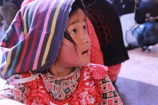 Girl, Nepalese, Cute, Face, Child, Kid, Happy, Smile