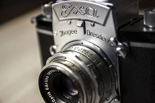 Old Camera, Camera, Old, Nostalgia, Photograph, Vintage