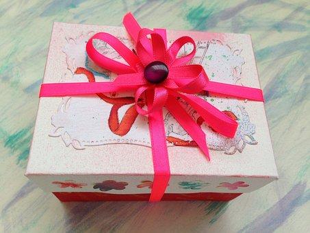 Gift Box, Present, Ribbon, Celebration, Birthday