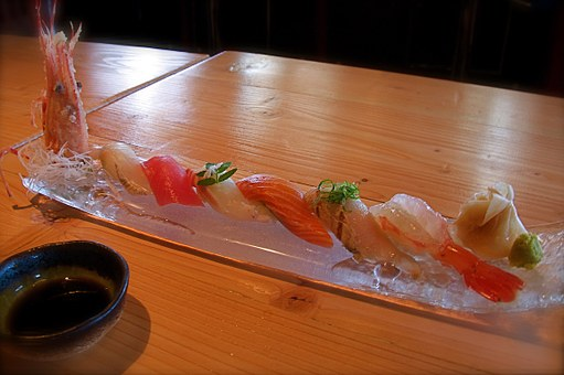 Sushi, Food, Japanese, Asian, Shrimp, Fish, Raw, Sauce