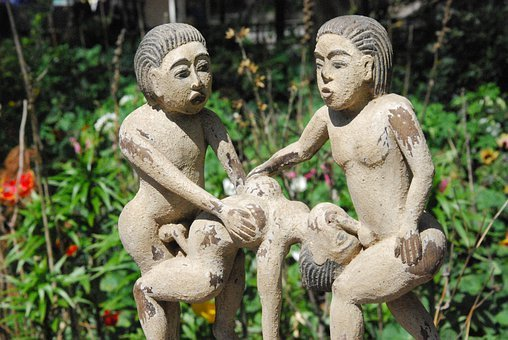 Kamasutra, Statue, Fig, Jinduismus, Asia, Sex, Love